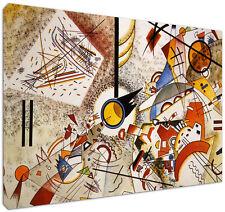 Quadro moderno Astratto Kandinsky Acqu.1 - Arte Arredo Stampa su tela Intelaiato
