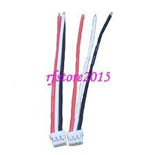 2pcs E-Flite beast/Sbach UMX femelle (esc/charger) connecteur 22awg 10cm