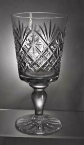 One Vintage Quality Wine / Water Goblet Perfect Gift Or Perfect To Use