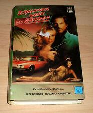 VHS - 8 Millionen Wege zu Sterben - Jeff Bridges - Action 1987 - Videokassette