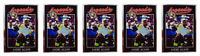 (5) 1991 Legends #48 Andre Agassi Tennis Card Lot