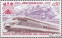 Monaco 1034 (kompl.Ausg.) postfrisch 1972 Eisenbahn-Verband