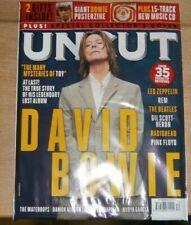 Uncut magazine Dec 2021 David Bowie Story of Legendary lost album Posterzine +CD