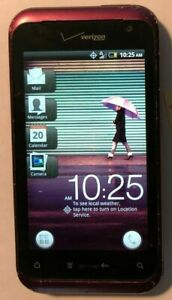 READ BEFORE BUYING HTC Rhyme 4GB (Verizon) CDMA Collectors Fast Ship Good Used