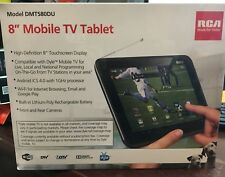 "RCA Mobile 8"" TV Tablet  WIFI Android ICS 4.0 with 1GHz Processor Model DMT580DU"