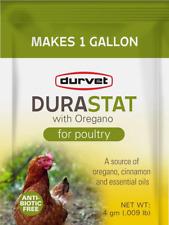 Durastat For Poultry Water Supplement Enhancer Withoregano Supplement 4gm X 1