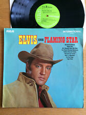 Elvis Presley - Flaming Star  Vinyl LP Stereo Green RCA International 1961