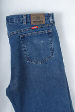 P946/14 Wrangler Blue Cotton Tapered Leg Jeans, size W42 L32