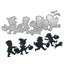 Halloween Children Metal Cutting Dies Stencil DIY Scrapbooking Album Stamp Card