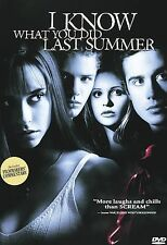 I Know What You Did Last Summer (DVD, 1998, Closed Caption Subtitled French and