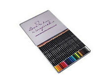 Derwent Academy COLOURING Assorted Pencils Tin of 24 - Adult Colouring