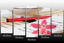 DEKOART BILDER WANDBILD SUSHI BAR LEINWAND BILD 150/80cm