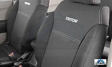 TRITON SEAT COVERS FRONT MITSUBISHI GENUINE ML 2009-12 ACCESSORIES BUCKET SEATS