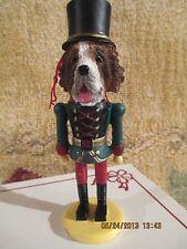 ST BERNARD ~ NUTCRACKER DOG SOLDIER ORNAMENT #50