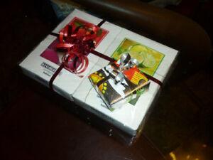 CANDELE PROFUMATE pacco regalo IDEA NATALE tea lights candeline aromaterapia bio
