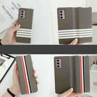 For Samsung Galaxy Z Fold 2 Cell Phone Protective Case Leather Flip Cover Shell