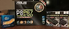 Intel Core i5 2500K LGA1155 + ASUS P8P67 EVO + 16GB Corsair Vengeance DDR3 RAM
