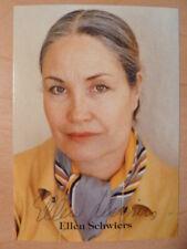 Ellen Schwiers † 2019 - Autogrammkarte