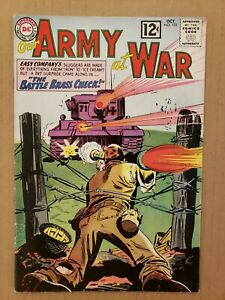 Our Army at War #123 Sgt Rock 1962 FN-