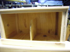 UNIVERSAL HAND MADE 2 BIRD NEST BOX FOR INSIDE CHICKEN COOP POULTRY HUT HOUSE