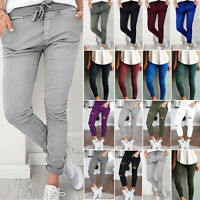 Womens Skinny Stretch Denim Jeggings Pants Slim Fit Jeans Pencil Long Trousers