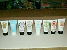 8 DIFFERENT PERLIER HAND CREAM SAMPLE SIZE 1 OZ NEW SEALED