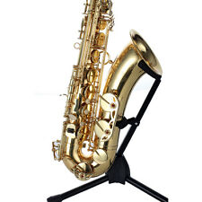 HUNKY BUNKY Tenor BB Saxophone Yellow Brass Body / Gold Lacquer best price deal