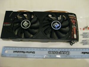 POWERCOLOR TWIN FAN GRAPHICS CARD COOLER FROM RADEON HD 6950 - COOLER ONLY