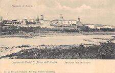 9122) CASTEL S. PIETRO DELL'EMILIA (BOLOGNA) PANORAMA DALLO STABILIMENTO VG 1917
