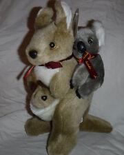 "I love Australia Kangaroo Joey Koala 11"" Plush Soft Toy Stuffed Animal"