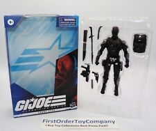 GI Joe Classified Snake Eyes Figure COMPLETE w/ Box
