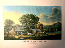 Autumn In New England - Cider Making - American West Print - By G.B. Durrie