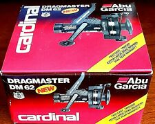 Abu Garcia Rear Drag Large Diameter Spool Spinning Fishing Reel Plus Extra Spool
