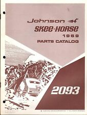 1969 JOHNSON SKEE-HORSE 2093 SNOWMOBILE PARTS MANUAL (343)