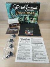 The Lord Of The Rings - Trivial Pursuit DVD Board Game Trilogy Edition LOTR NEW