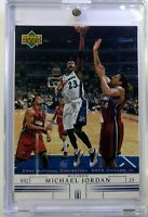 2002 Upper Deck Spokesmen Set National Convention Michael Jordan #N-15, Wizards