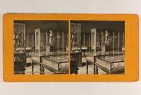 Francia Parigi Museo Del Louvre Sala Dei Color Bronzo Pompei c1900 Foto Stereo