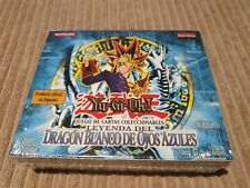 1st Edition Legend Of Blue Eyes Spanish Booster Box