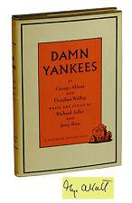 DAMN YANKEES George Abbott & Douglass Wallop ~ First Edition 1956 ~ Signed 1st