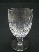 Waterford Colleen Short Stem Claret Wine Glasses 4.75in Clear Cut Crystal