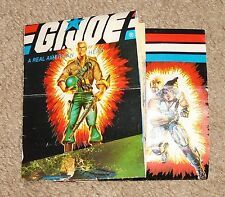 G I JOE        1984         Product Catalog Order Form Fold-out Brochure
