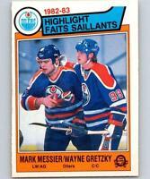 1983-84 O-Pee-Chee NHL Hockey Card Set Break NM Pick From List 1-200
