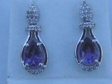 Gems TV Butterfly Drop/Dangle Natural Fine Earrings