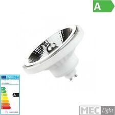 AR111/GU10 LED Spot / Strahler 45° 15W 230V 1050Lm pur weiß 4000K weißes Gehäuse