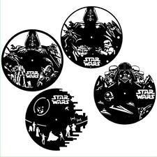 DXF CDR and EPS File For CNC Plasma or Laser Cut - Star Wars Clock Super Lot