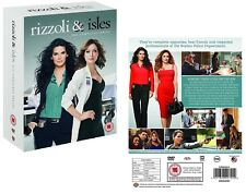 RIZZOLI & ISLES 1-7 (2010-2016): COMPLETE TV Seasons Series - NEW R2 DVD not US