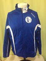 Diadora Guam Football Association Soccer Men's Blue Jacket Size Medium