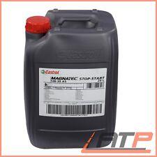 20 L LITRE CASTROL MAGNATEC STOP-START 5W-30 A5 ENGINE OIL ACEA A1/B1 A5/B5