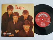 """BEATLES LOVE ME DO / P.S I LOVE YOU 1980's reissue 7"""" vinyl"""