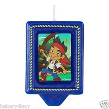 JAKE AND THE NEVERLAND PIRATES CAKE CANDLE DECORATING BAKERY BIRTHDAY PARTY LOOT